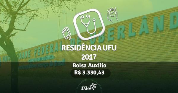 Residência UFU 2017: Edital publicado com vagas para Dentistas