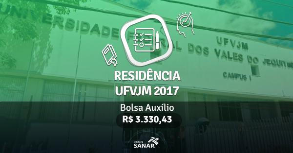 Residência UFVJM 2017: edital publicado com vagas para Enfermeiros, Nutricionistas, Dentistas e mais