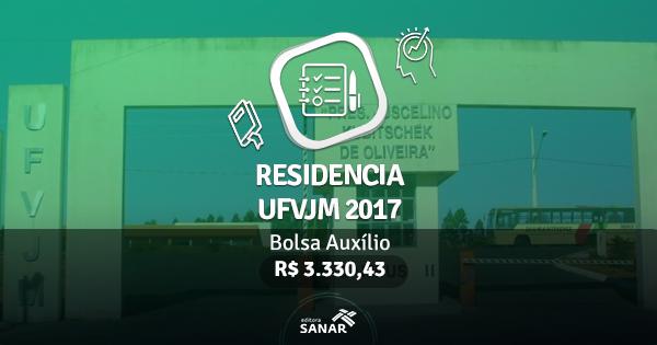 Residência UFVJM 2017: publicado edital com vagas para Fisioterapeutas