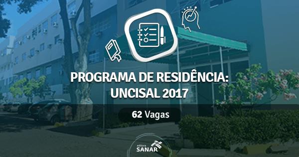 UNCISAL abre programa de Residência Multiprofissional 2017 com 62 vagas na Saúde