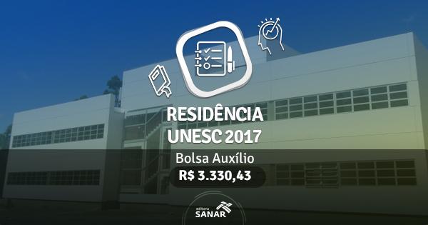 Residência UNESC 2017: edital publicado com vagas para Enfermeiros, Nutricionistas, Psicólogos e mais
