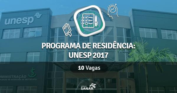 UNESP abre programa de Residência Multiprofissional em Saúde para 2017