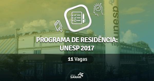 Programa de Residência em Fisioterapia da UNESP: 11 vagas para Fisioterapeutas