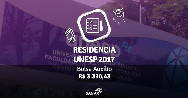 Residência UNESP 2017: edital publicado com vagas em Fisioterapia