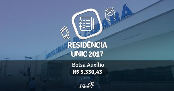Residência UNIC 2017: edital publicado com vagas para Enfermeiros, Psicólogos, Fisioterapeutas e Dentistas