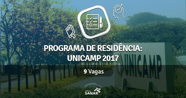 Residência Multiprofissional UNICAMP 2017: vagas para Enfermeiros e Psicólogos