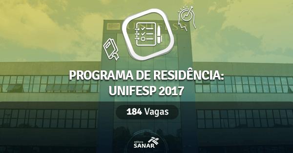 Residência Multiprofissional da Unifesp tem vagas para Enfermeiros, Fisioterapeutas, Nutricionistas e mais