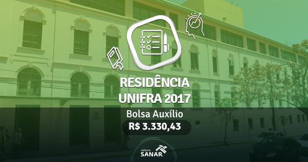 Residência UNIFRA 2017: edital publicado com vagas para Enfermeiros, Psicólogos, Farmacêuticos e mais