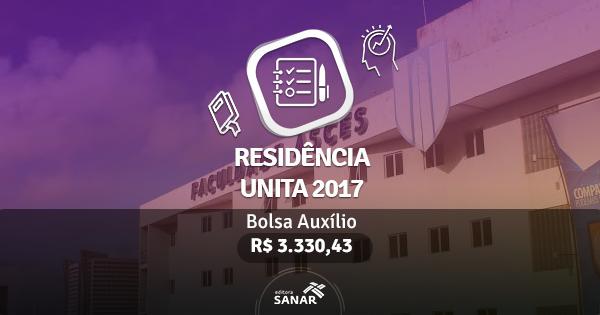 Residência UNITA 2017: Edital publicado com vagas para Nutrição, Enfermagem e mais