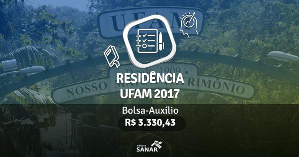 Residência UFAM 2017: edital publicado com vagas para Nutricionistas, Enfermeiros, Psicólogos e mais