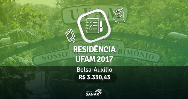 Residência FISIO UFAM 2017: edital publicado com vagas para Fisioterapeutas