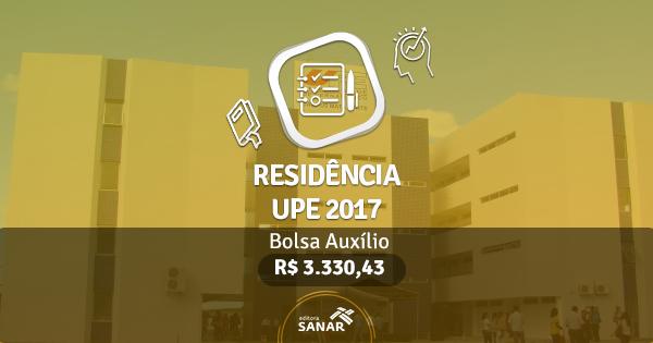 Residência UPE 2017: edital publicado com vagas para Nutrição, Enfermagem e mais