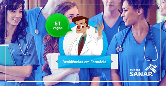 Residências em Farmácia abertas no Brasil