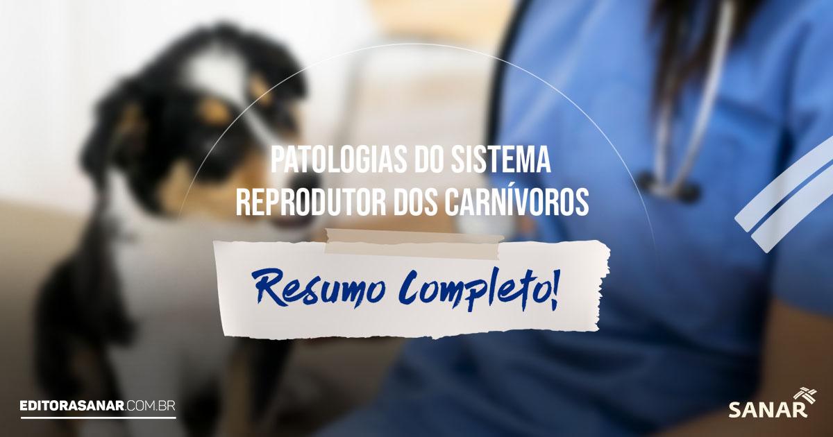 Patologias do Sistema Reprodutor em Carnívoros: Resumo Completo