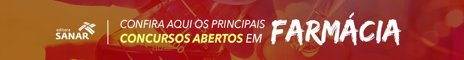 Principais concursos abertos em Farmácia!