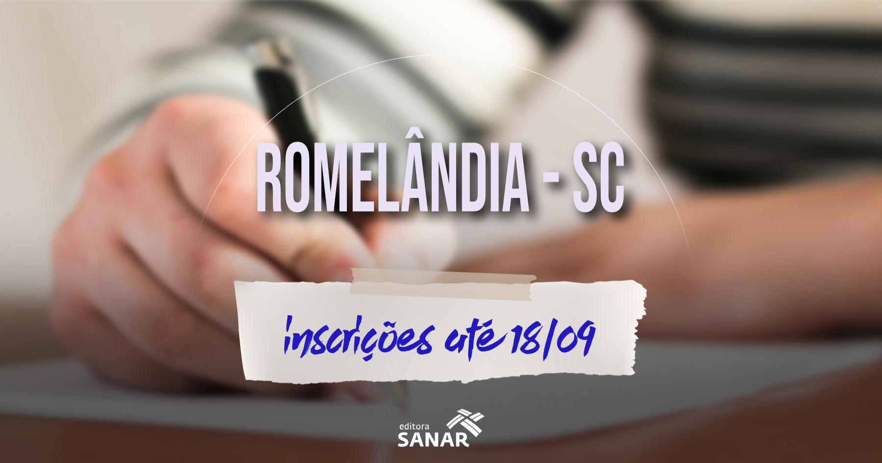 Concurso   Prefeitura de Romelândia reabre inscrições