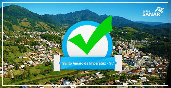 Prefeitura de Santo Amaro (SC) abre concurso para Enfermeiros, Nutricionistas, Médicos, Dentistas e Farmacêuticos.