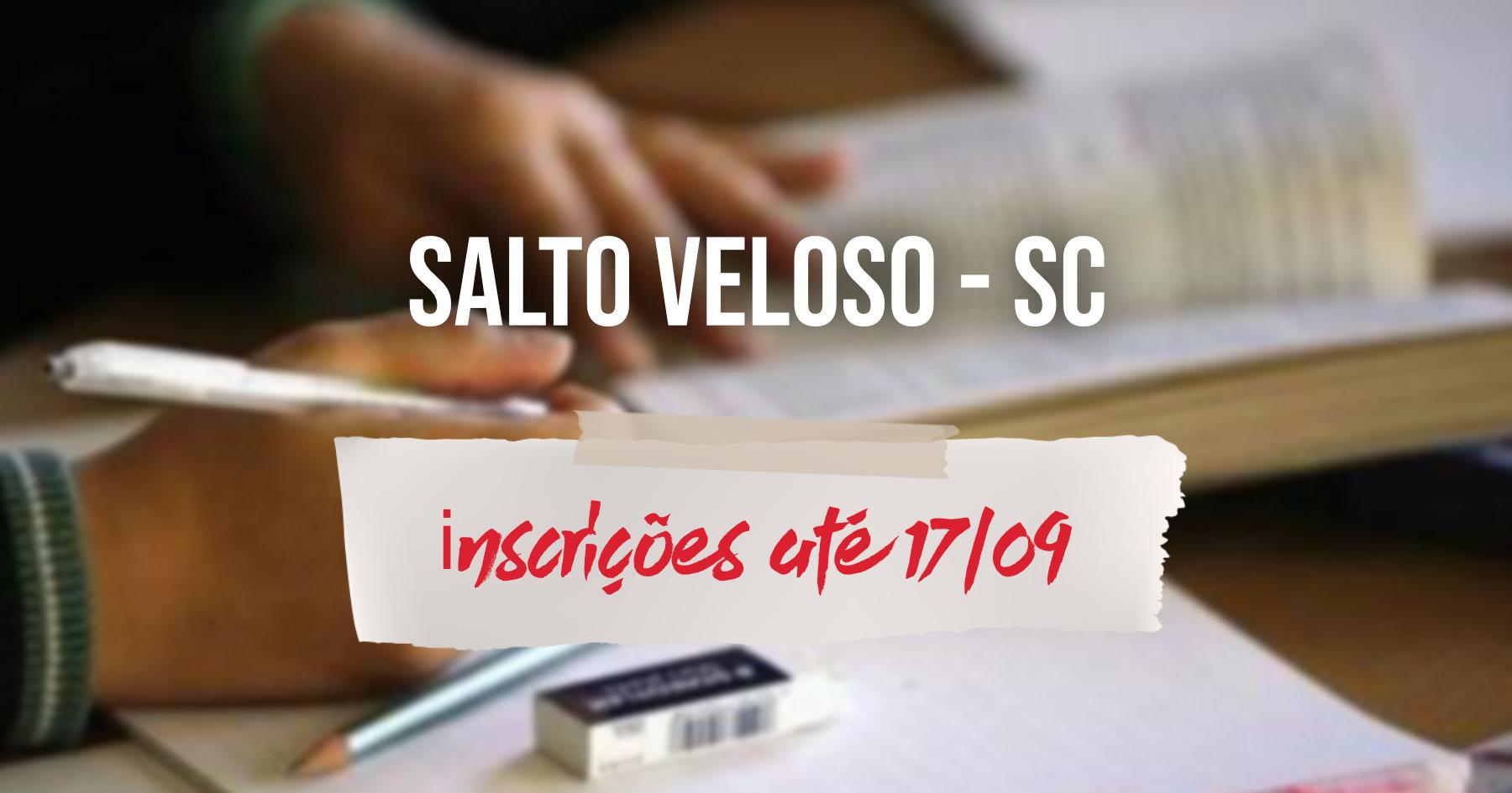 Seleção | Salto Veloso (SC) prorroga inscrições