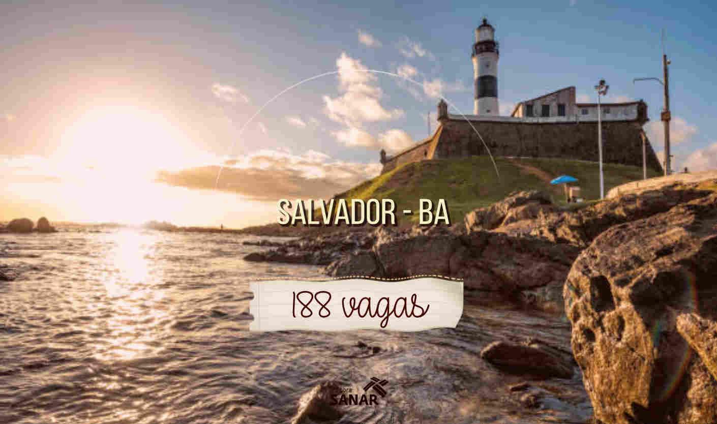Seleção em Salvador: Prefeitura abre 188 vagas em Enfermagem e Odontologia