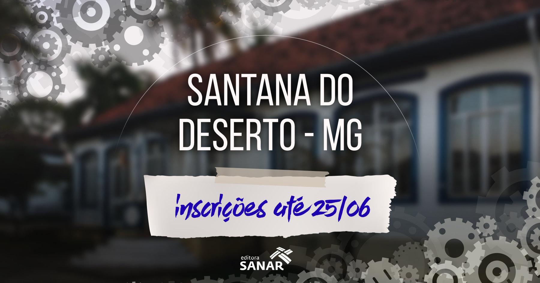 Seleção  Prefeitura de Santana do Deserto (MG) procura enfermeiro