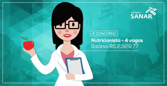 Rio Grande do Sul abre Concurso Público para Nutricionistas com remuneração de R$ 2.929,77