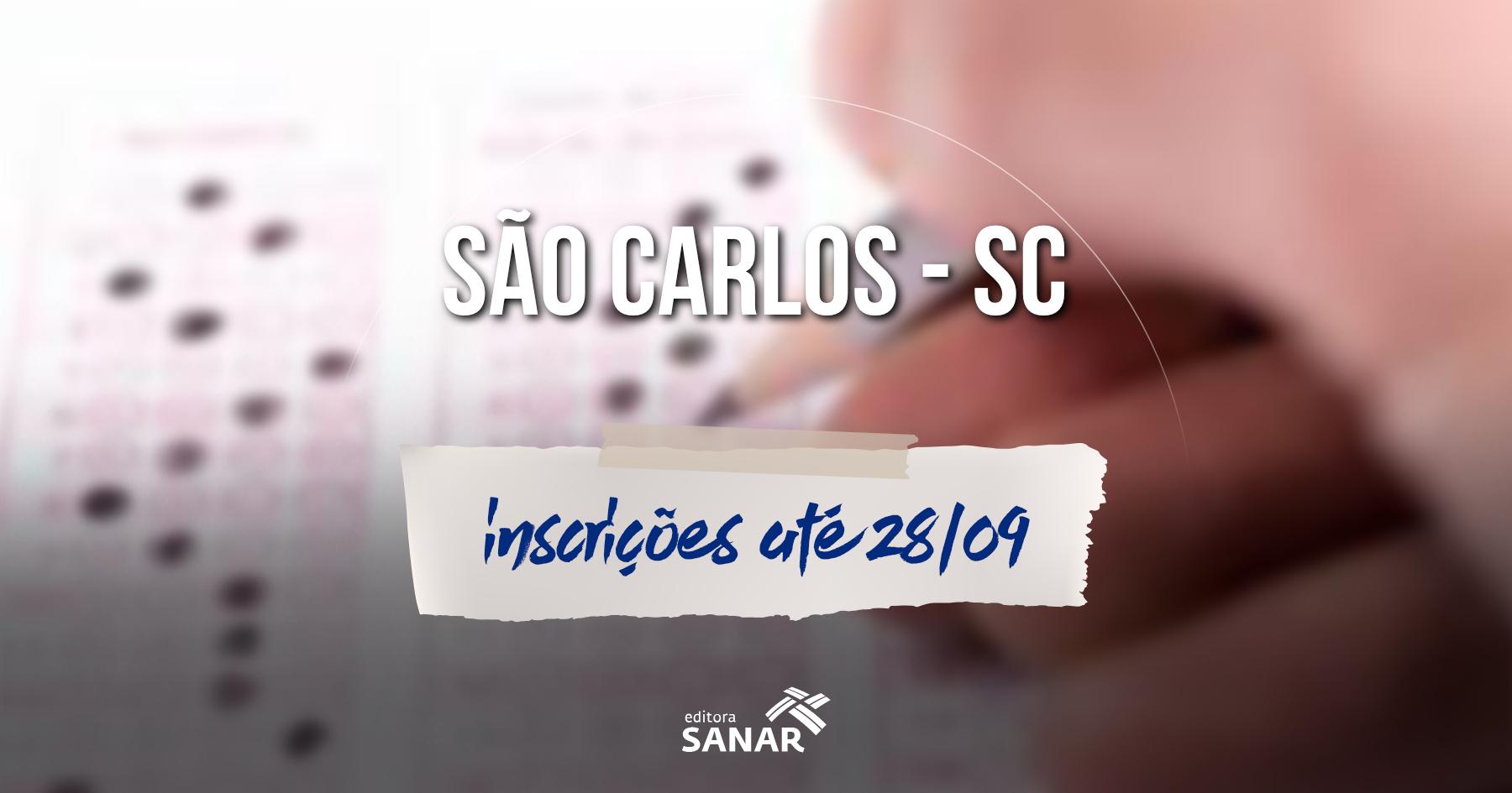 Concurso  Prefeitura de São Carlos abre inscrições para médicos