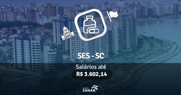 Secretaria Estadual de Saúde de Santa Catarina (SESC-SC): edital publicado com vagas para Farmacêuticos