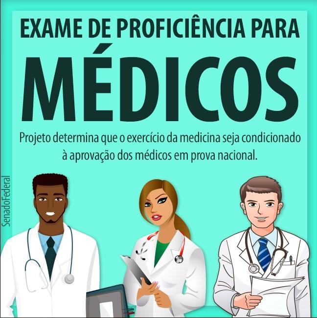 PROJETO DE LEI PARA EXAME DE PROFICIÊNCIA EM MEDICINA