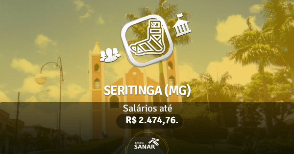 Prefeitura de Seritinga (MG): concurso público com vaga para Fisioterapeuta