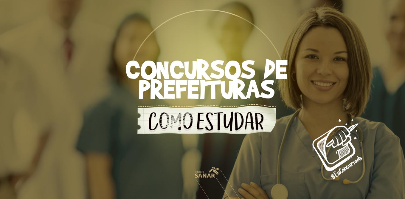 Concursos de Prefeituras para enfermeiros: como estudar
