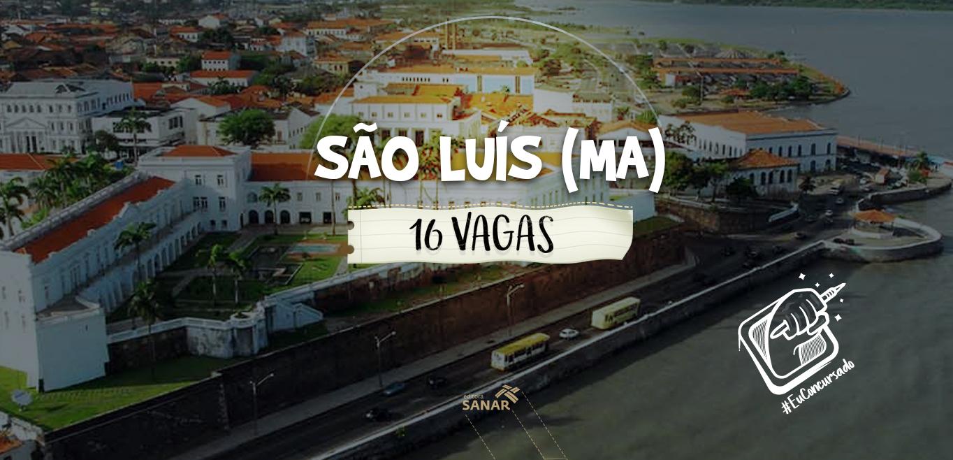 Prefeitura de São Luís (MA): 16 vagas para psicólogos
