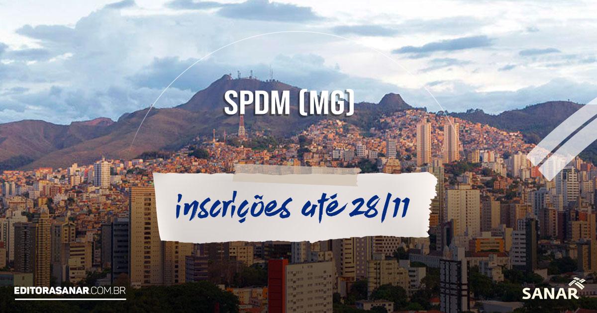 SPDM (MG): edital aberto para cadastro reserva de profissionais de saúde