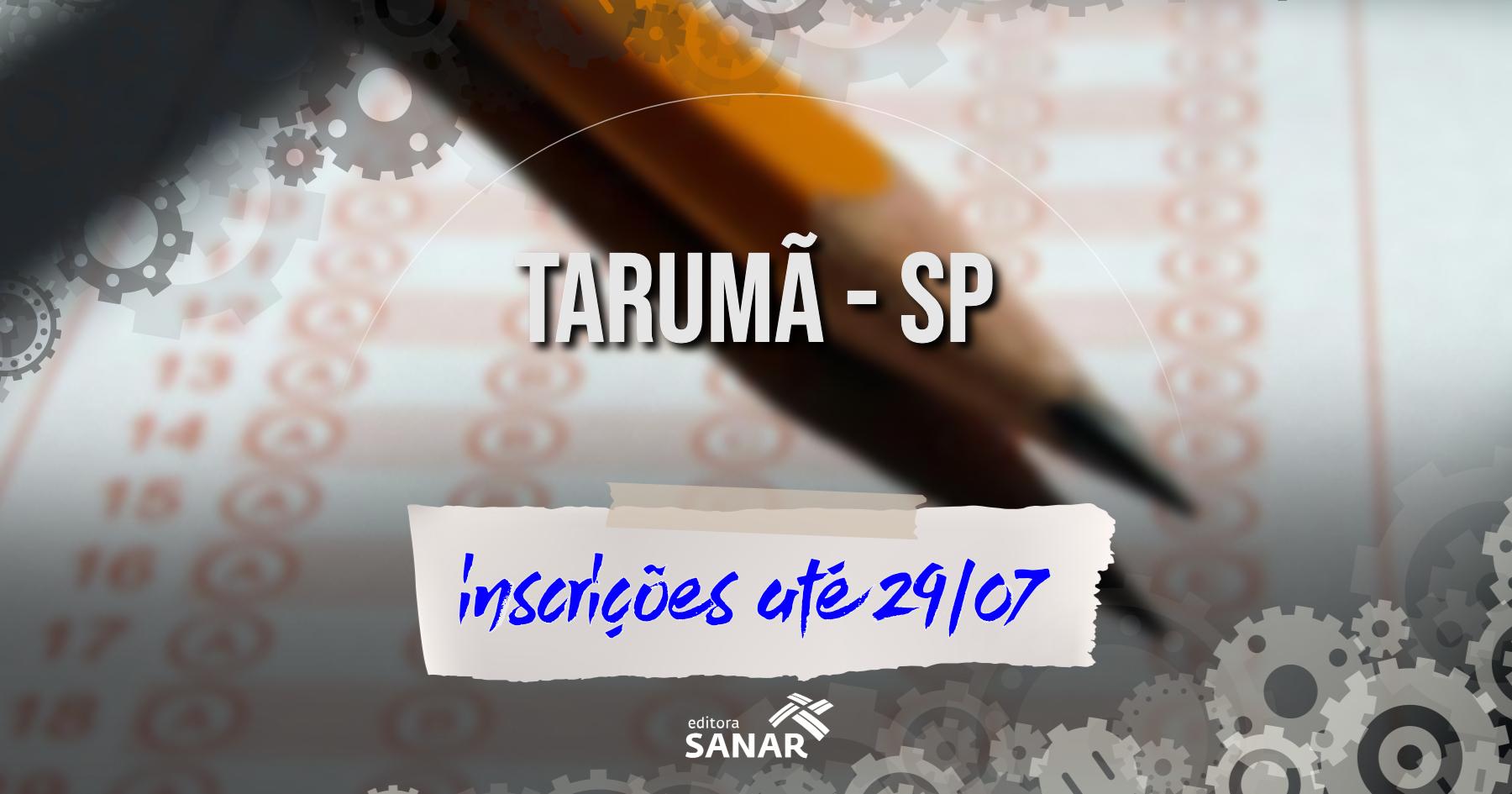 Seleção | Tarumã (SP) divulga edital