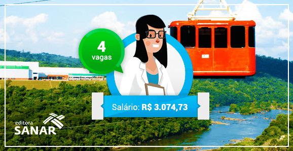 Concurso para Enfermeiros com remuneração de R$ 3.074,73 no Paraná