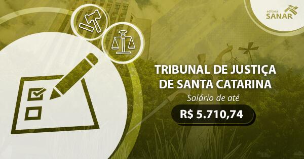 Concurso Tribunal de Justiça de Santa Catarina 2017