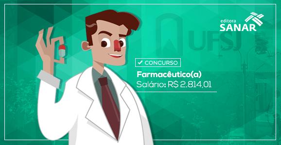 Concurso para Farmacêuticos com remuneração de R$ 2.814,01 em Minas Gerais