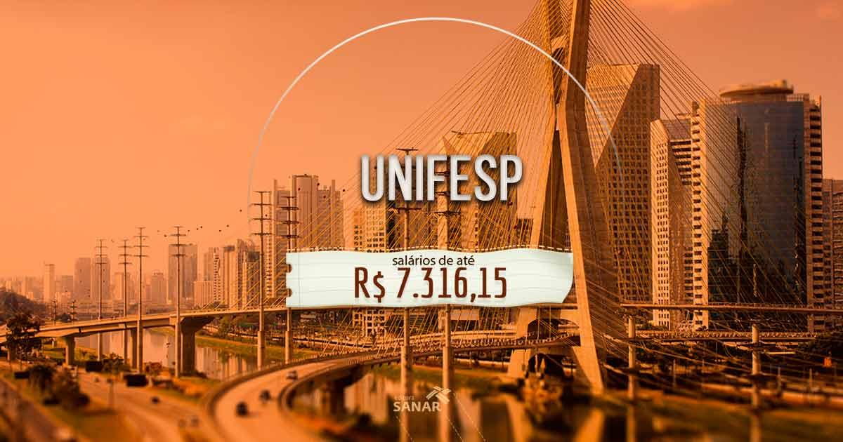 Concurso UNIFESP: edital divulga bons salários e benefícios para áreas da saúde