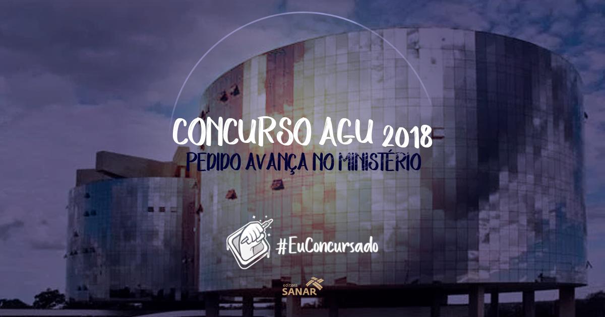 Concurso AGU 2018: Pedido de autorização caminha no Ministério do Planejamento