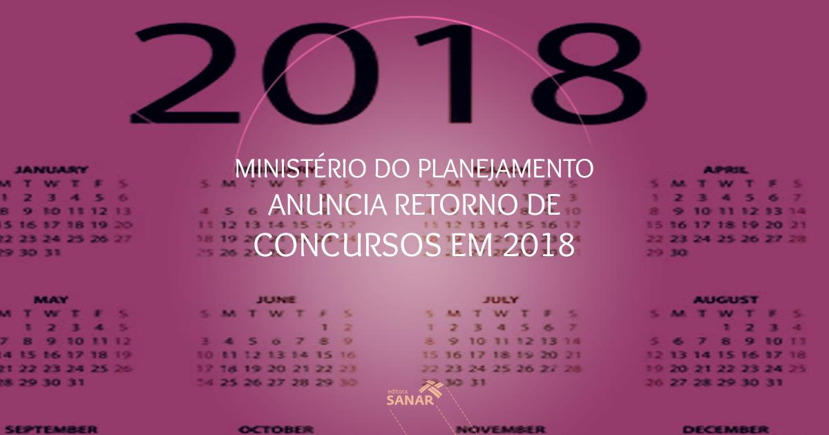 Ministério do Planejamento comunica aumento de concursos e vagas para 2018