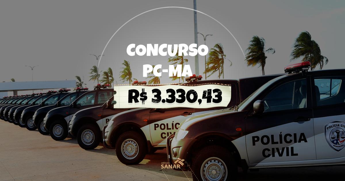 Concurso PC-MA 2017/2018: vagas para Médico Legista, Odontolegista e Perito Criminal