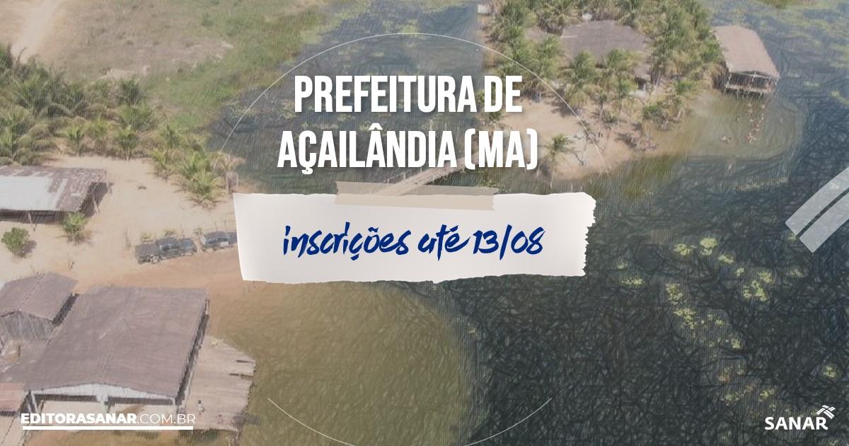 Concurso de Açailândia - MA: vagas com salários de até R$8 mil na Saúde!