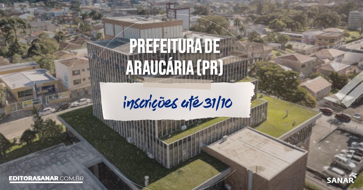 Concurso de Araucária - PR: vagas na Saúde!