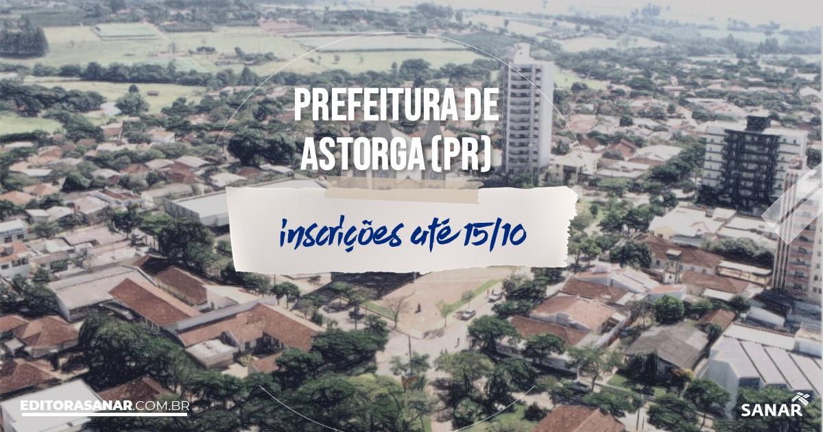 Concurso de Astorga - PR: salários de até R$10 mil na Saúde!