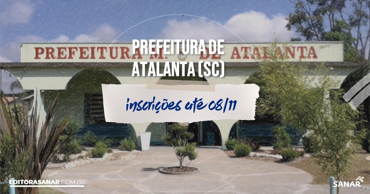 Concurso de Atalanta - SC: vagas na Saúde!