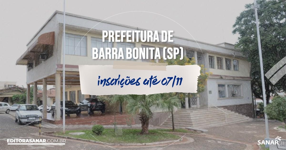 Concurso de Barra Bonita - SP: vagas imediatas na Saúde!