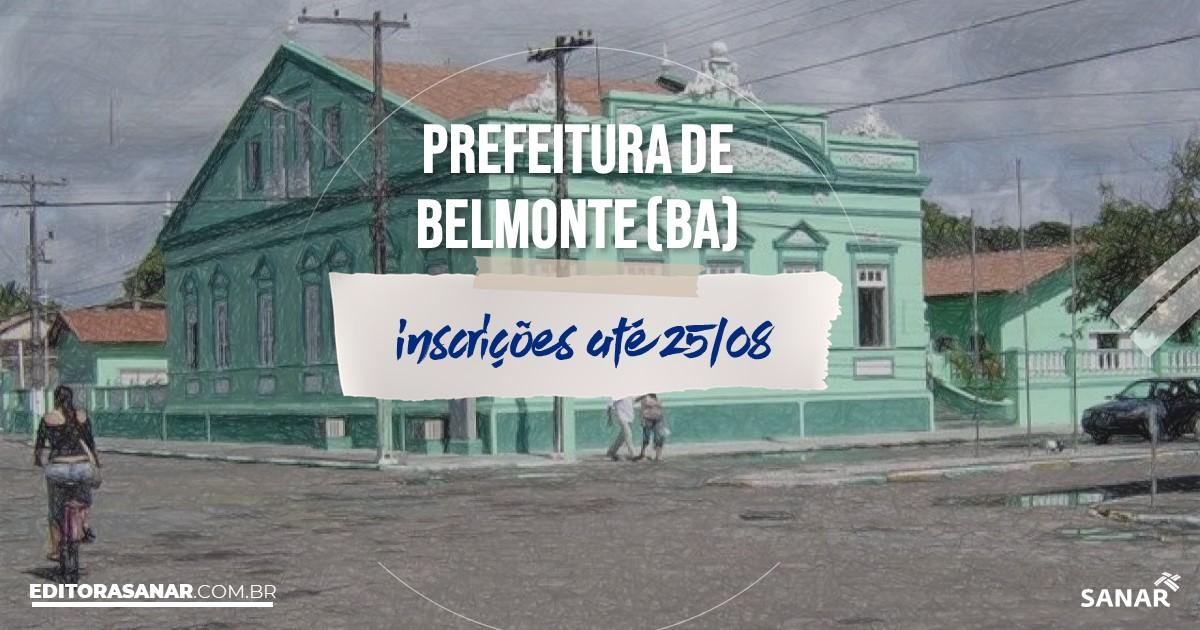 Concurso de Belmonte - BA: vagas imediatas na Saúde!
