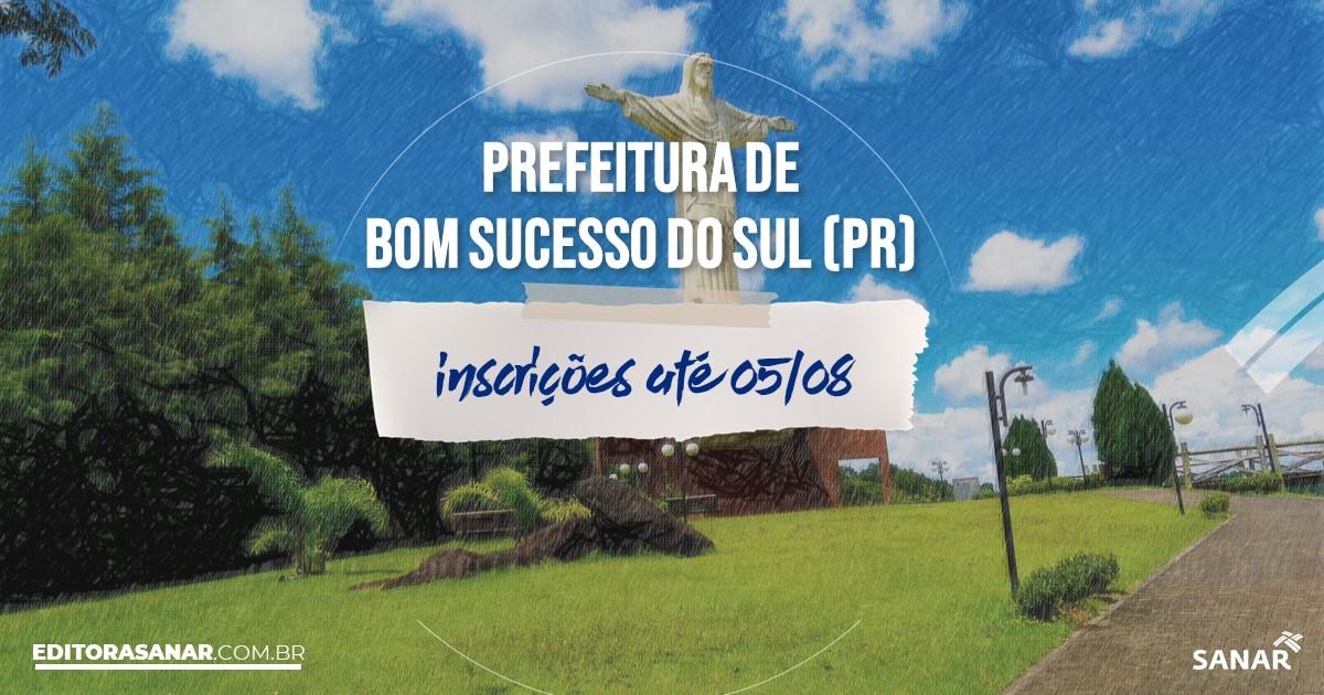 Concurso de Bom Sucesso do Sul - PR: salário na Saúde de até R$15 mil!