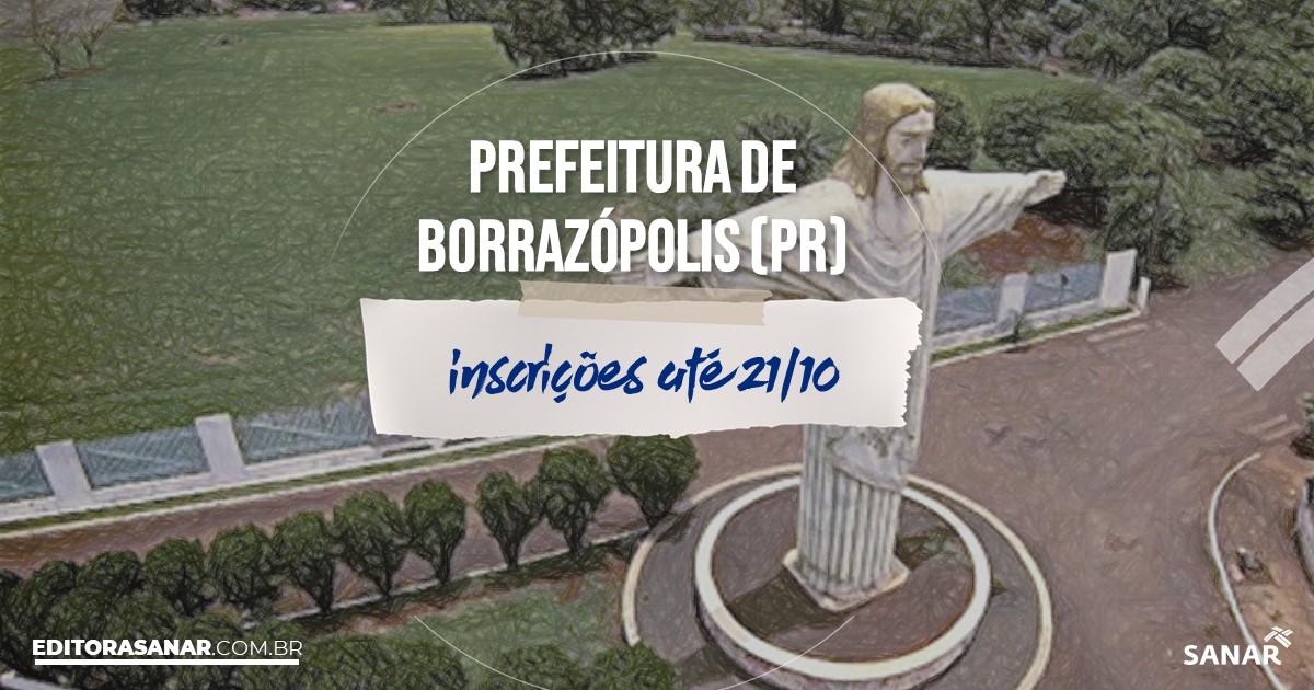 Concurso de Borrazópolis - PR: salários na Saúde de até R$14 mil!