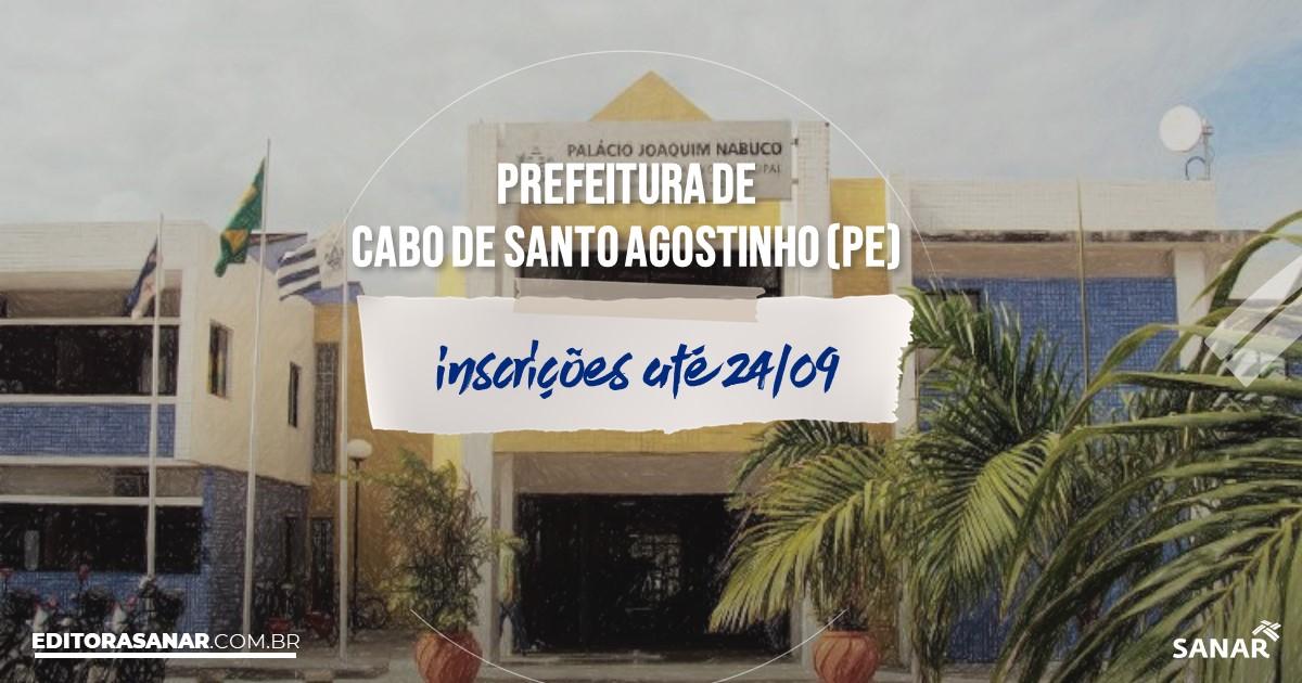 Concurso de Cabo de Santo Agostinho - PE: vagas na Saúde!