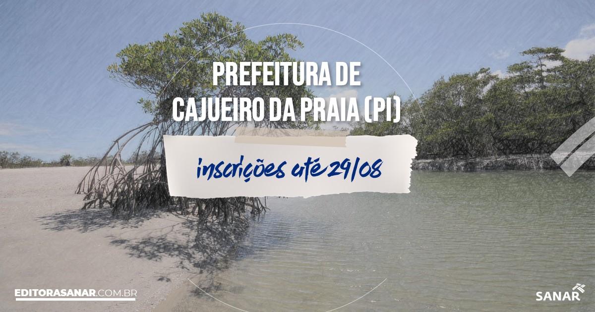 Concurso de Cajueiro da Praia - PI: vagas na Saúde de até R$7,3 mil!